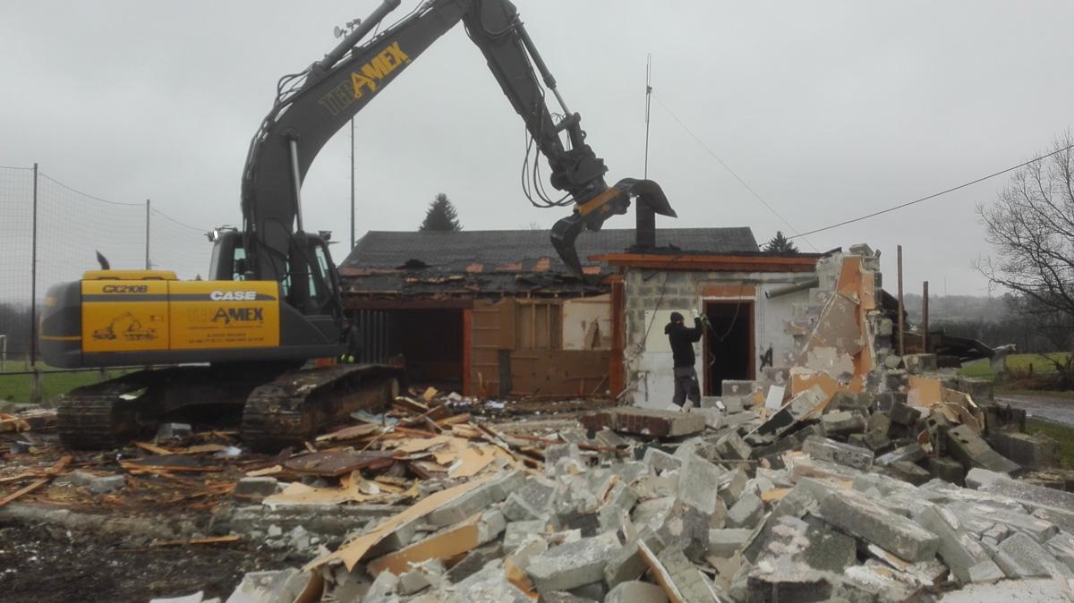 D molition de b timents de toutes sortes teramex - Devis demolition maison ...